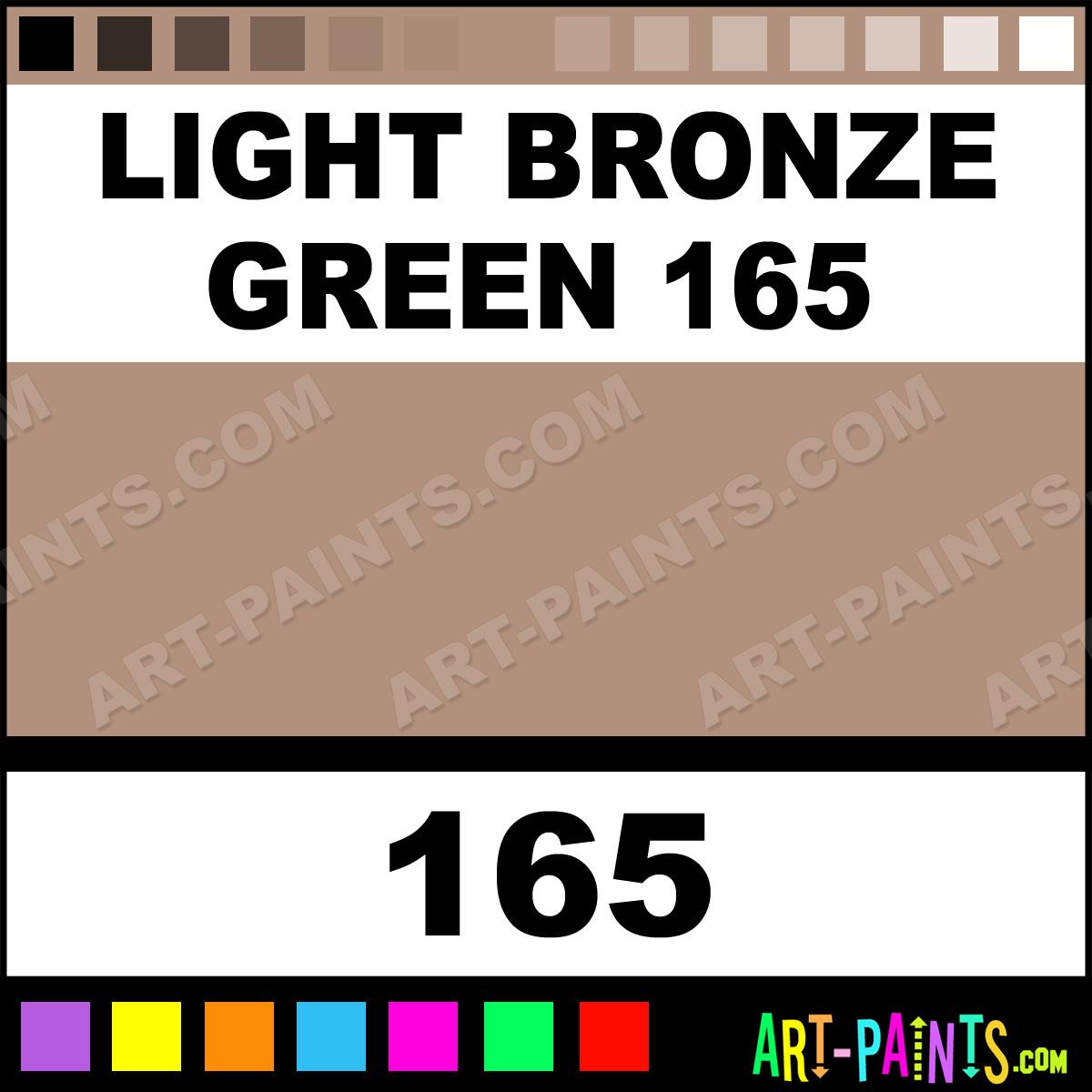 Light bronze green 165 landscape pastel paints 165 Light pastel green paint