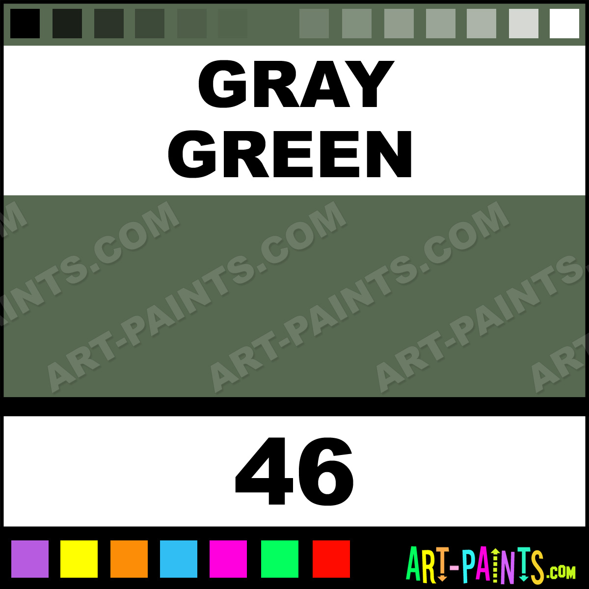 green academy pastel paints 46 gray green paint gray green color