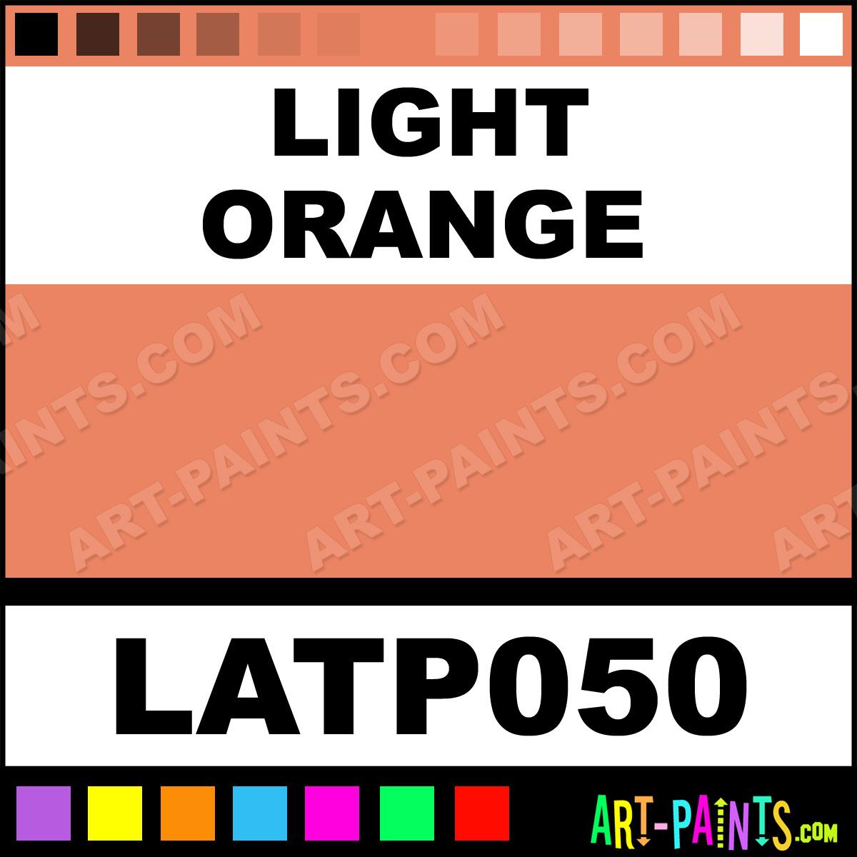 Pale Orange Paint Simple Of Light Orange Oil Pastel Paints  LATP050  Light Orange Paint, Light  Image