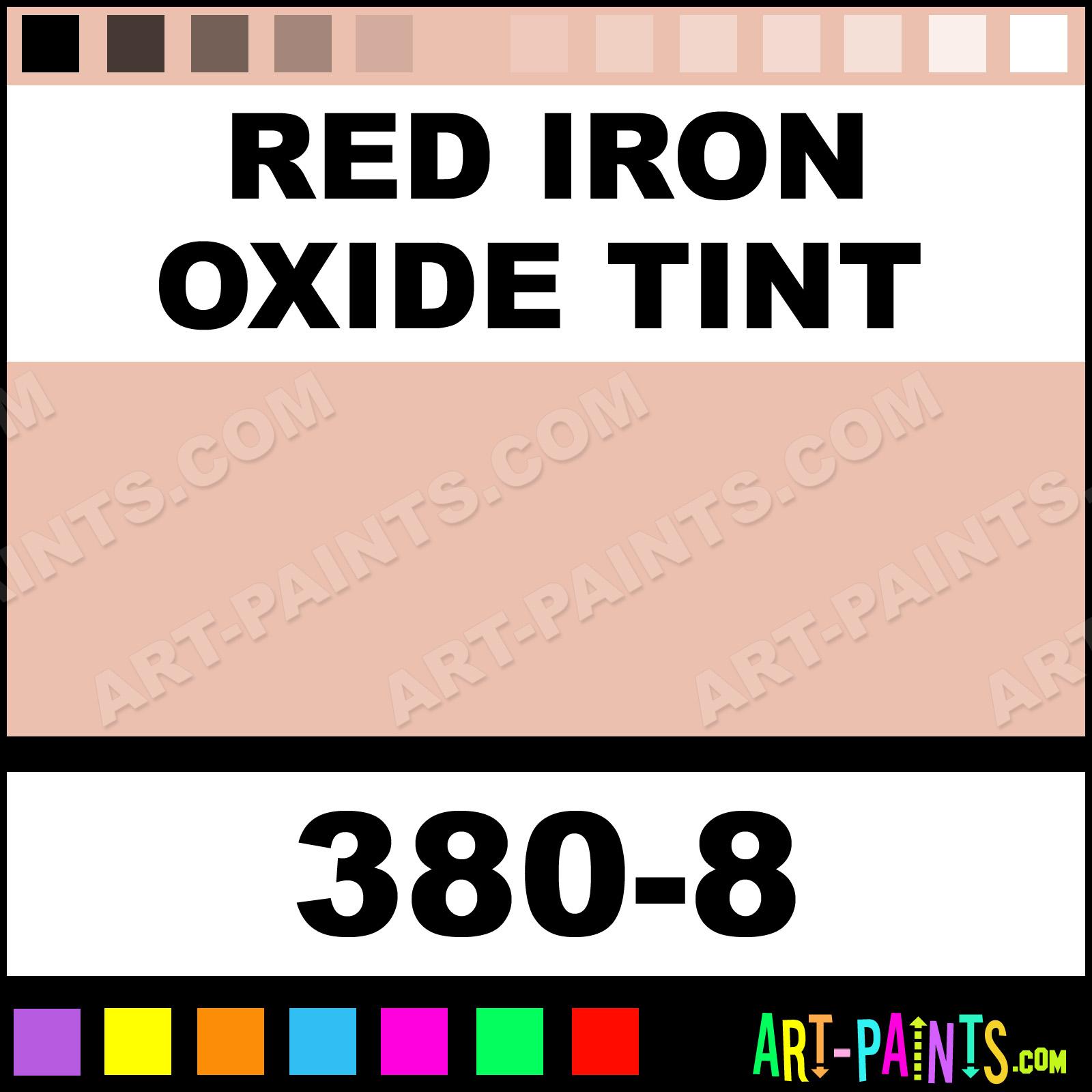 Red Iron Oxide Tint Soft Pastel Paints 380 8 Paint Color Panpastel Ebc0af Art