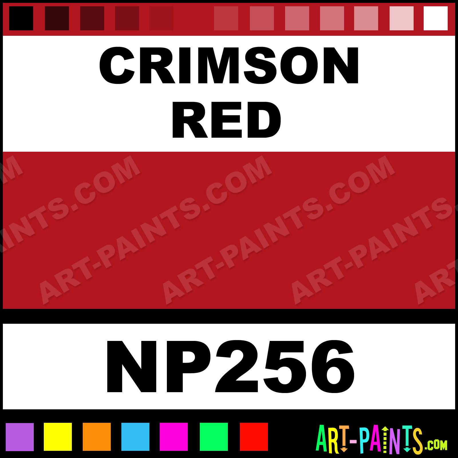 Crimson Red Paint