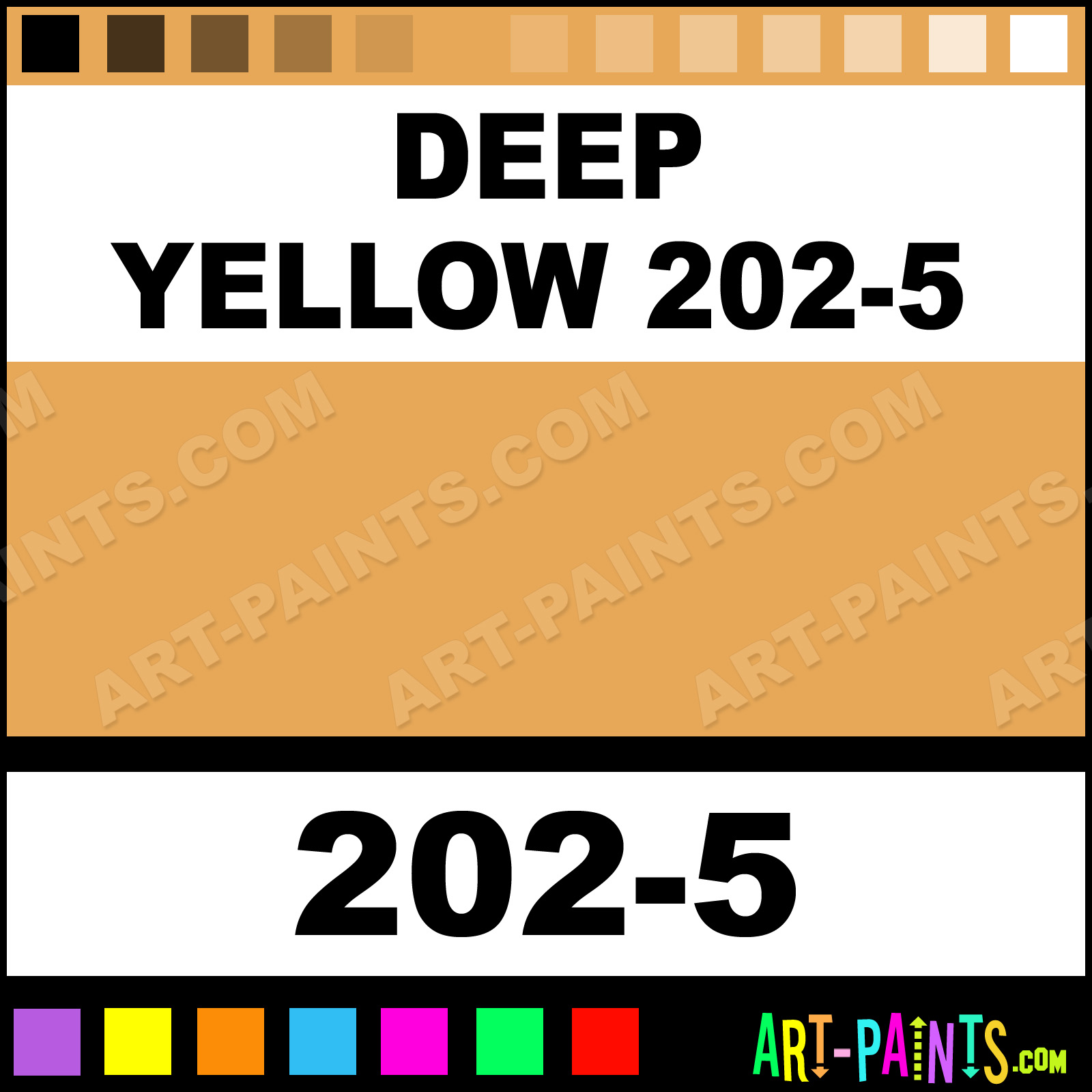Deep Yellow 202 5 Soft Pastel Paints 202 5 Deep Yellow