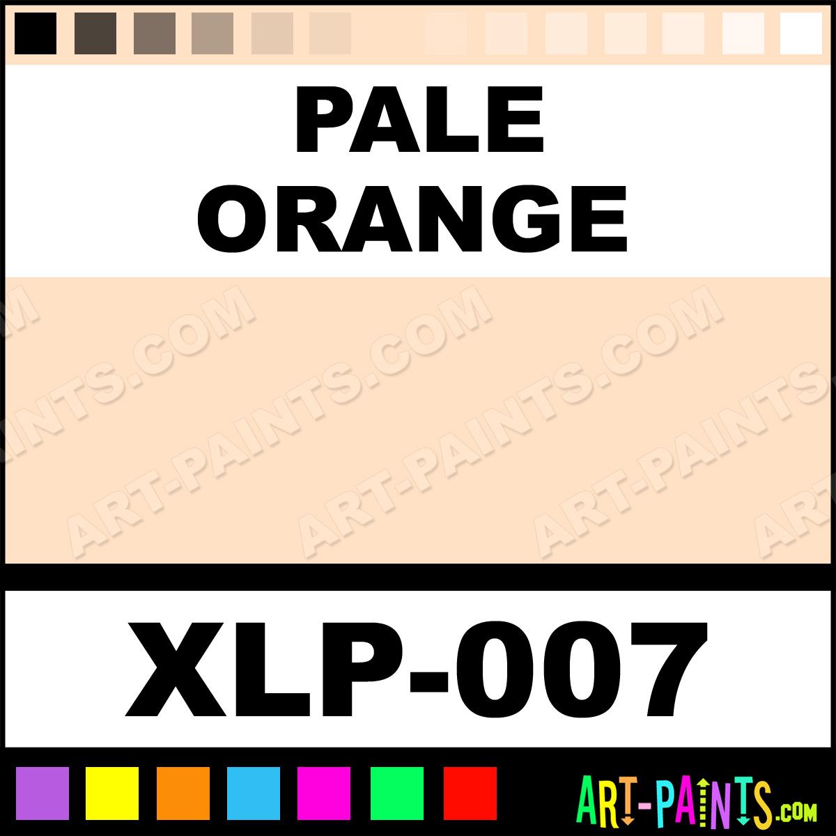 Pale Orange Paint pale orange expressionist oil pastel paints - xlp-007 - pale