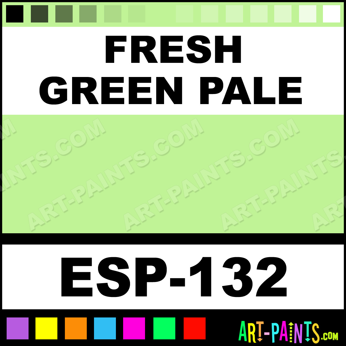 Fresh Green Pale Specialist Oil Pastel Paints Esp 132