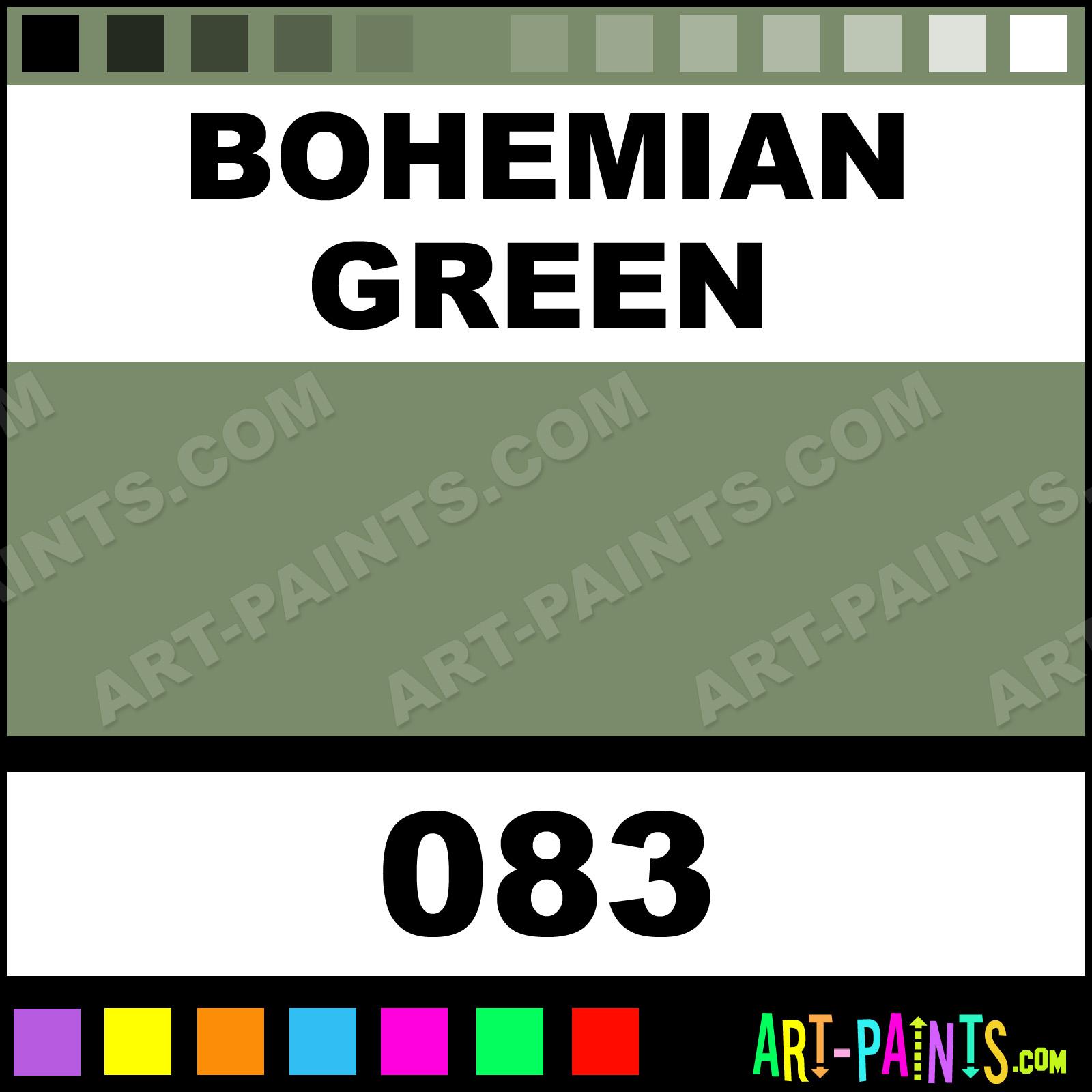83H Bohemian Green Soft Pastel Schmincke