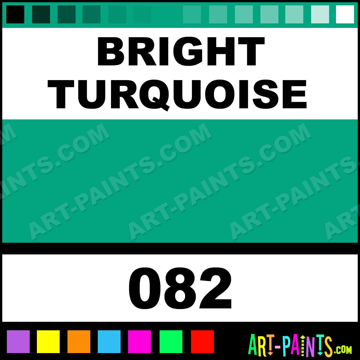 Bright turquoise oil pastel paints 082 bright - Bright turquoise paint colors ...