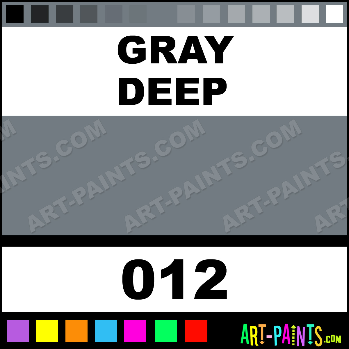 Gray deep oil pastel paints 012 gray deep paint gray for Deep grey color