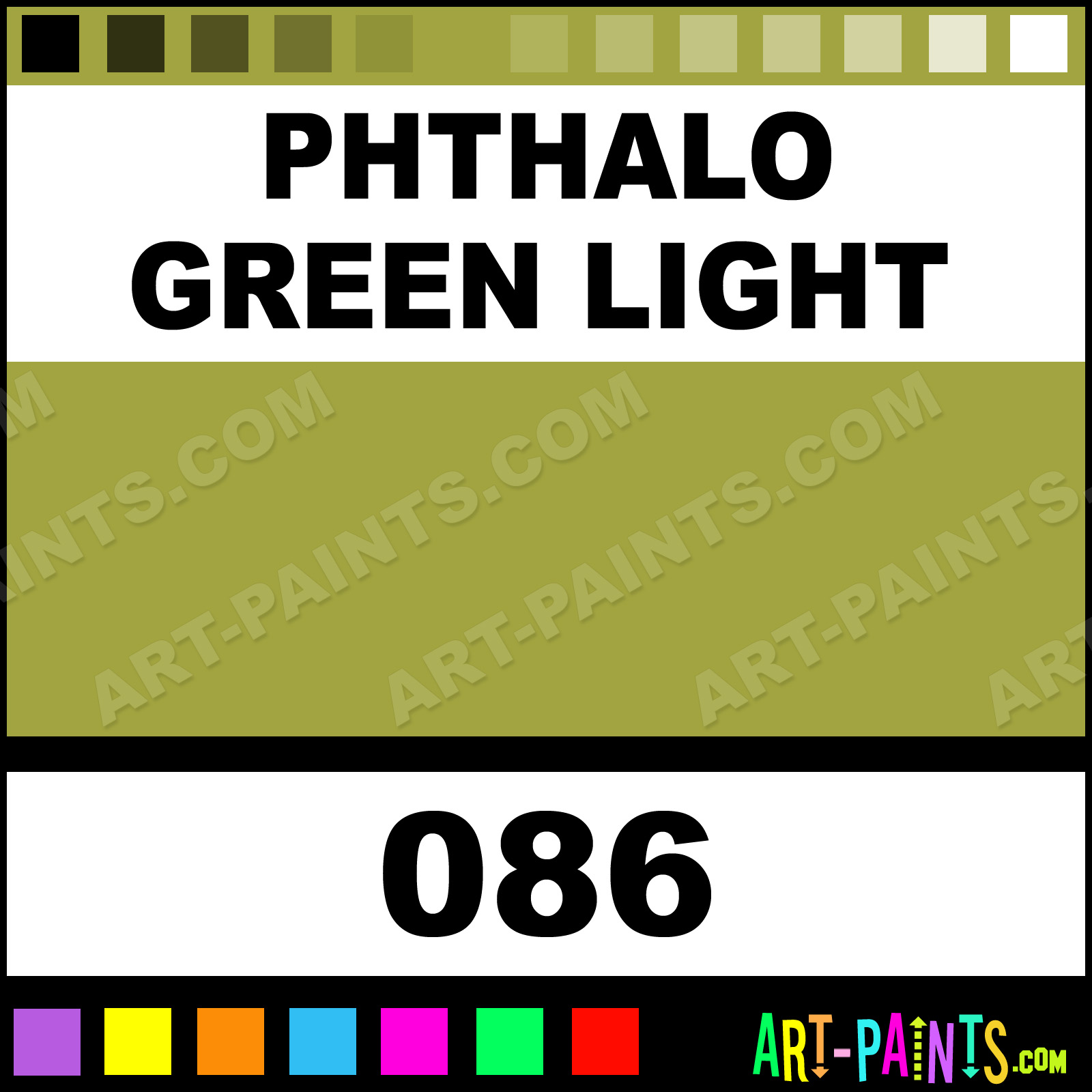 Phthalo green light oil pastel paints 086 phthalo Light pastel green paint