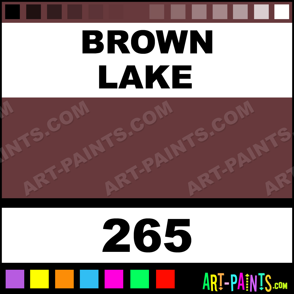 Brown lake soft pastel paints 265 brown lake paint for Soft brown paint colors