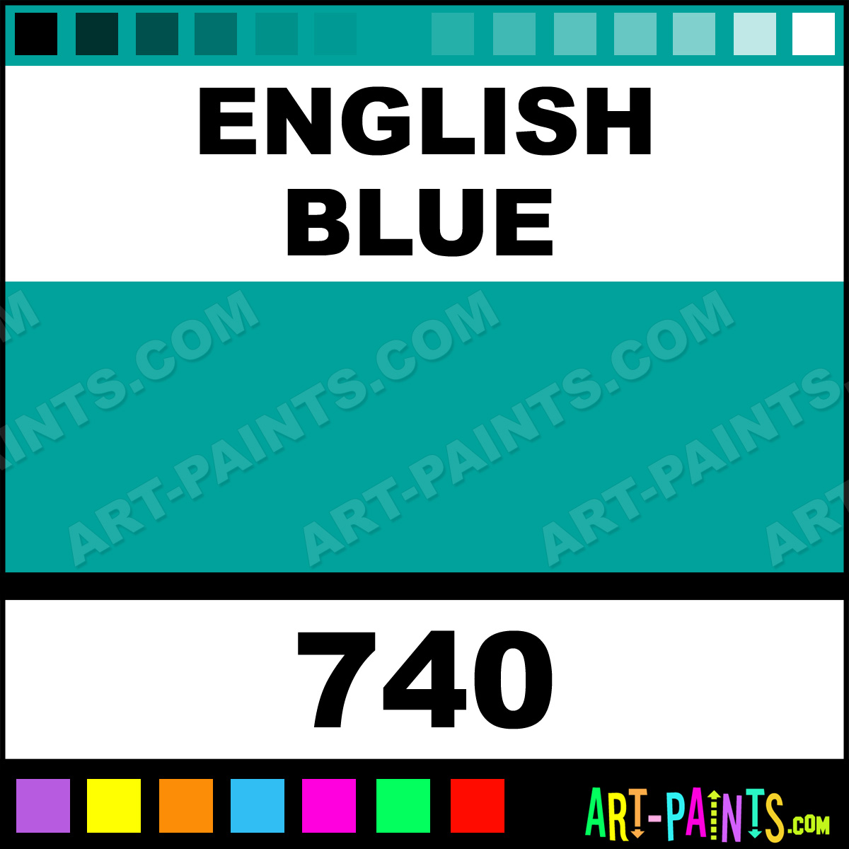 english blue soft pastel paints 740 english blue paint