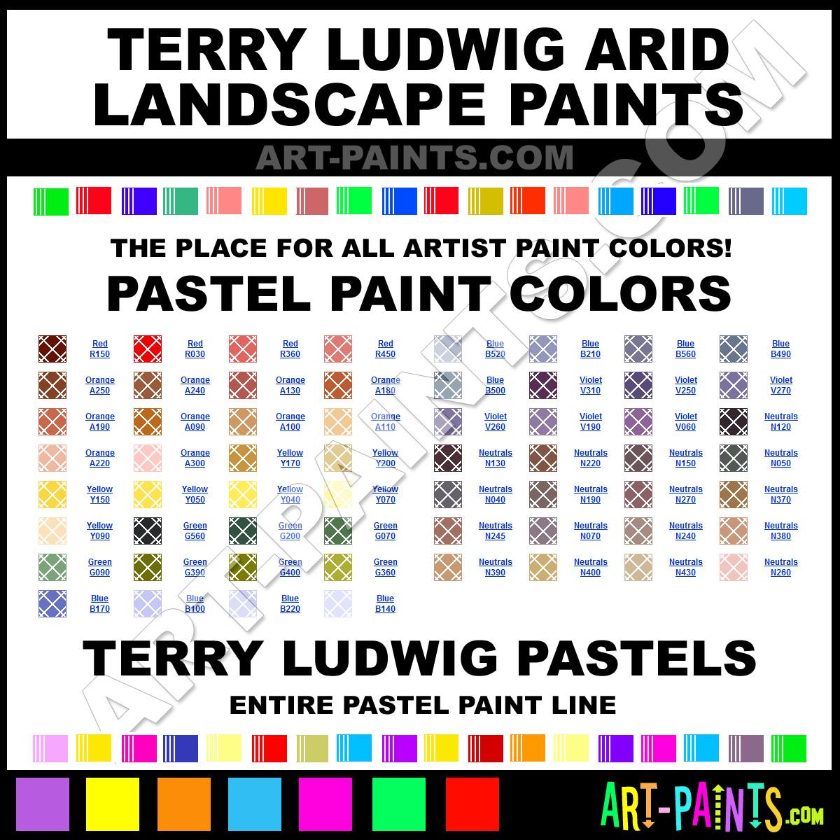 Arid Landscape Paint Color