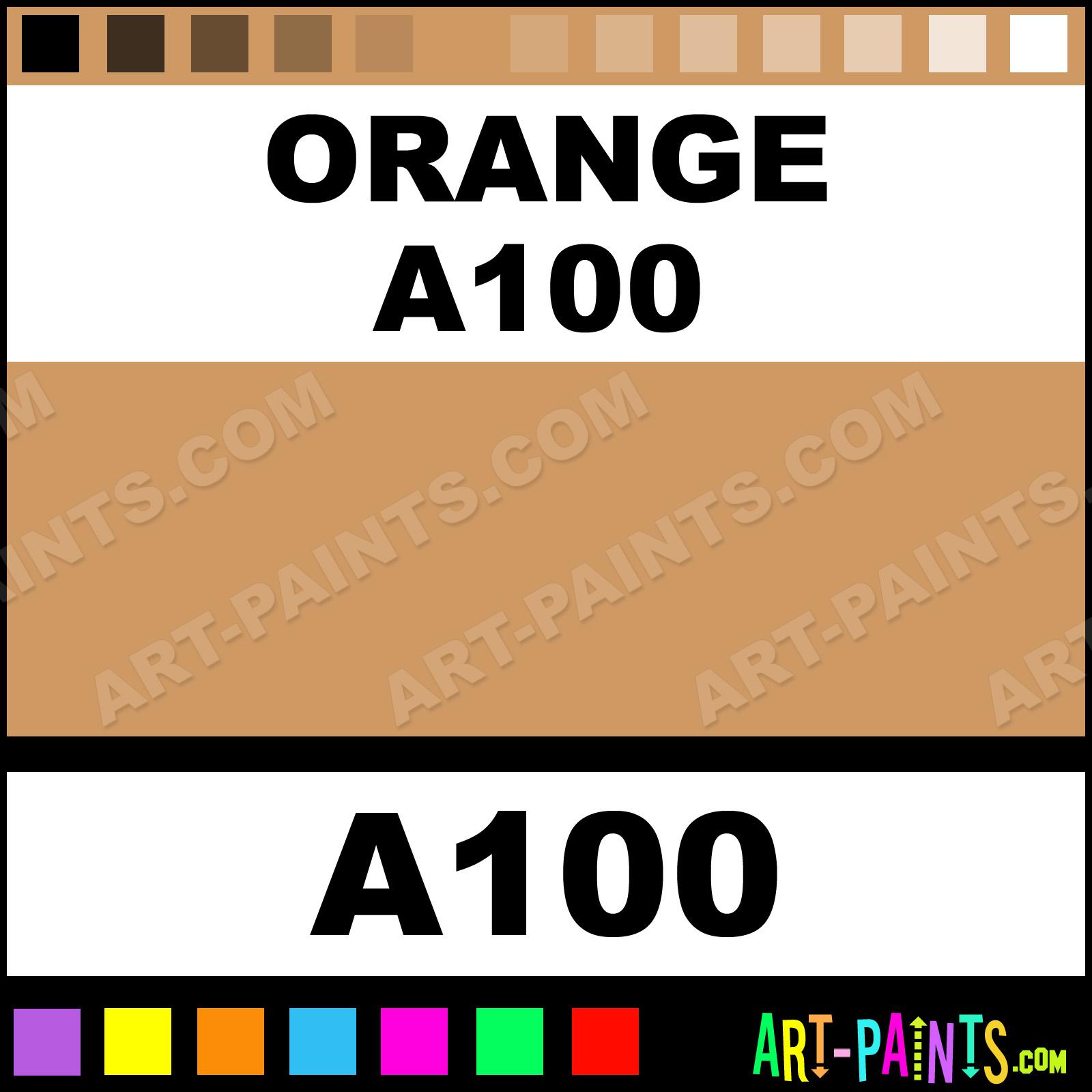 Orange a100 artist pastel paints a100 orange a100 for A 100 paint