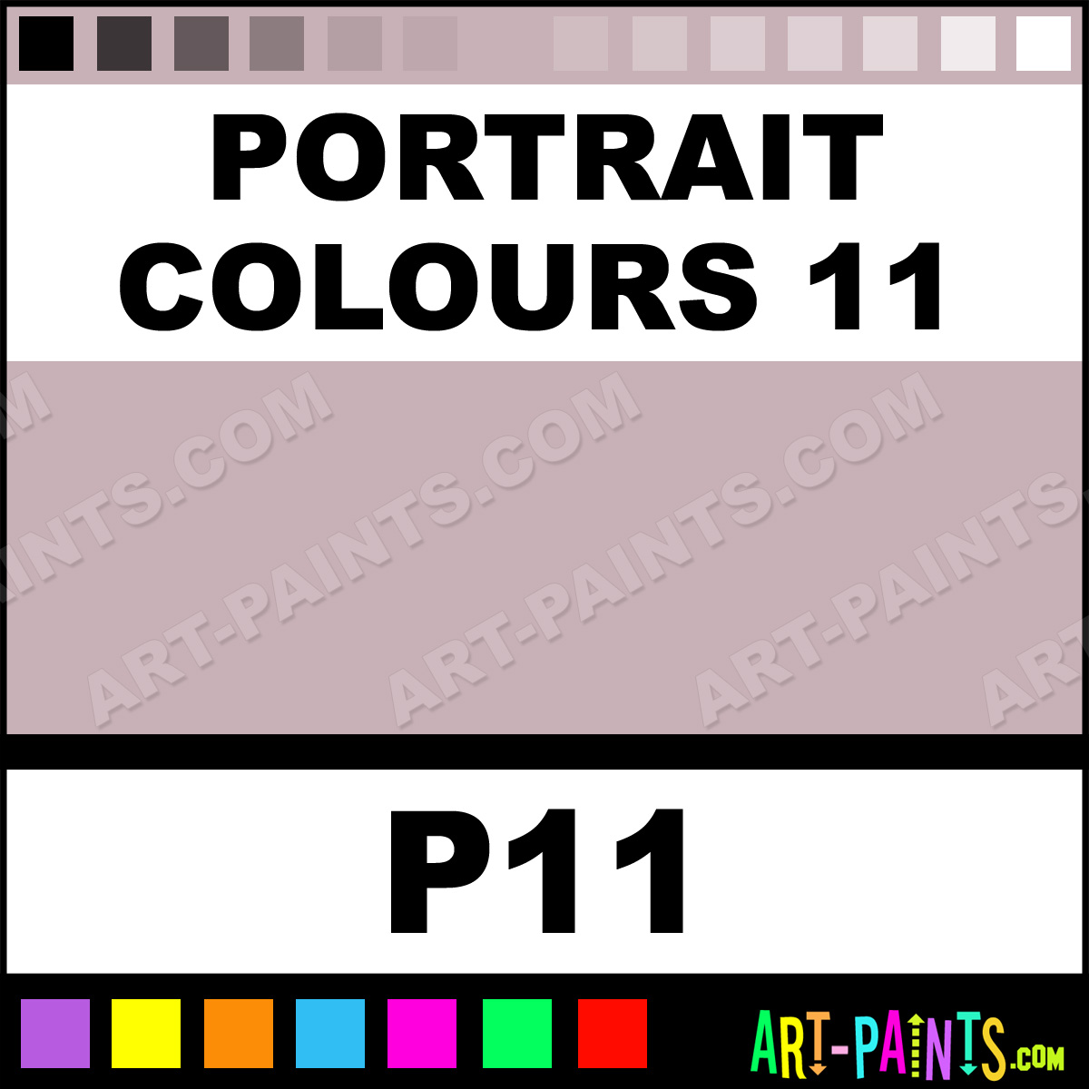 11 Pastel Paint Colors: Portrait Colours 11 Paint, Portrait Colours 11