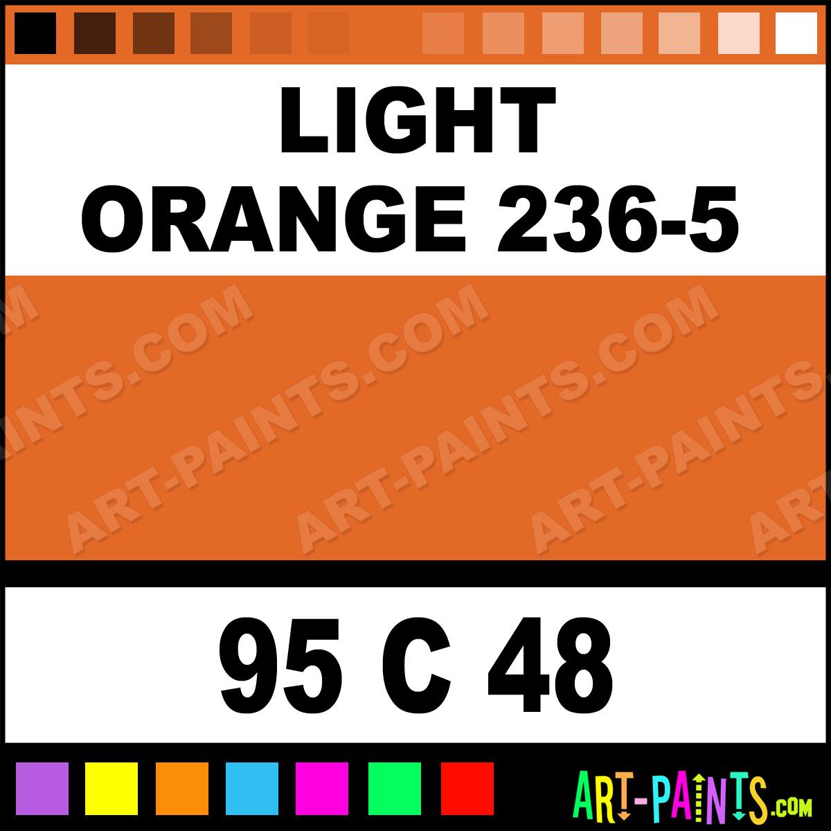 Light Orange 236 5 Oil 48 Set Pastel Paints 95 C 48
