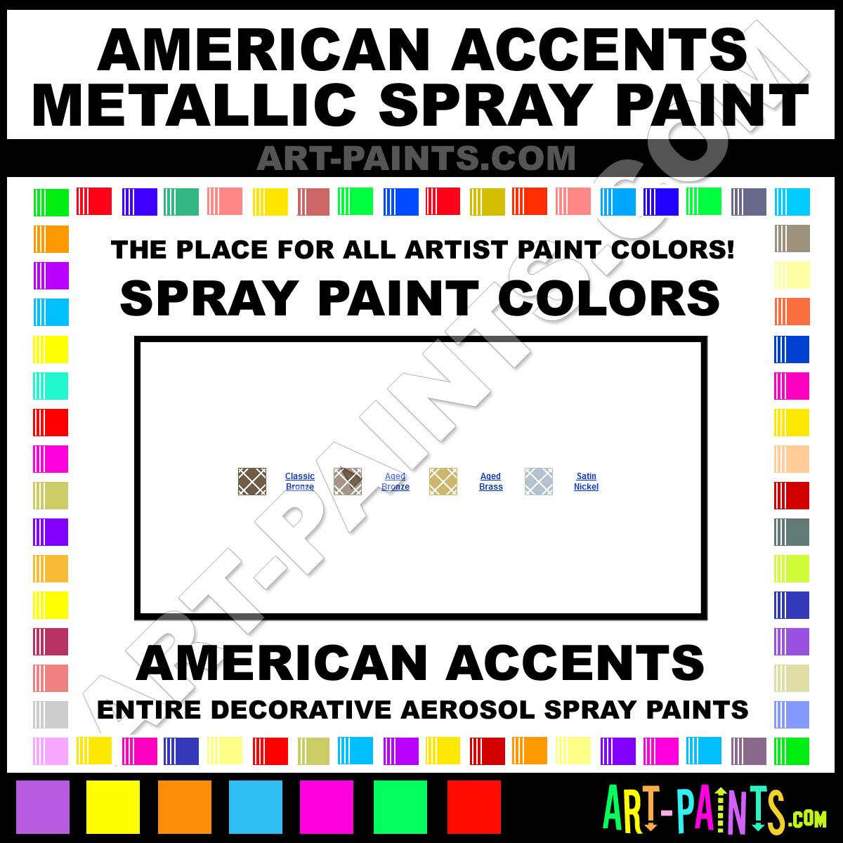 Colour chart for car paint - Car Paint Color Chart Candy Colors Satin Nickel Metallic Spray Paints243896satin Nickel Paint
