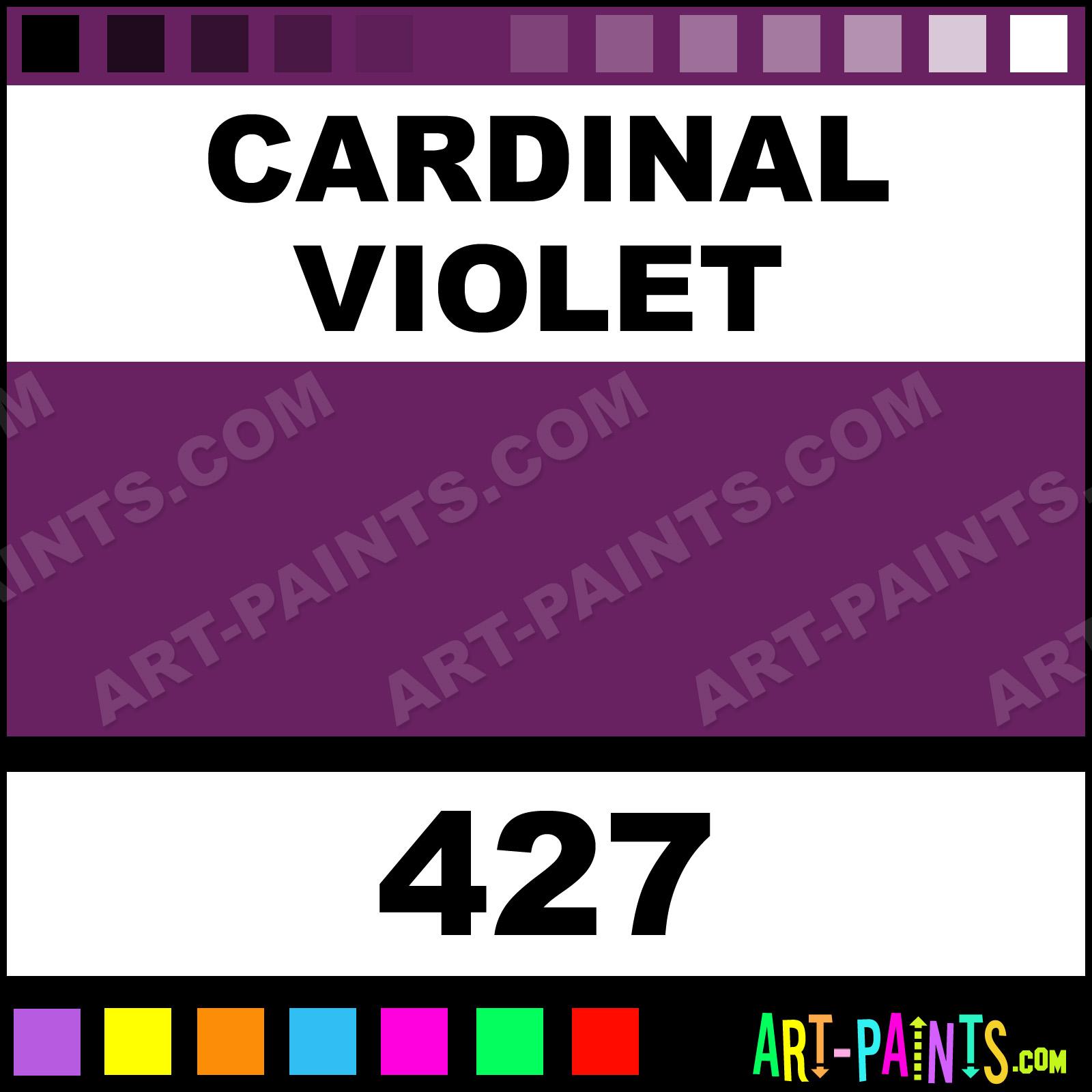 Cardinal Violet Artist Spray Paints - Aerosol Decorative Paints