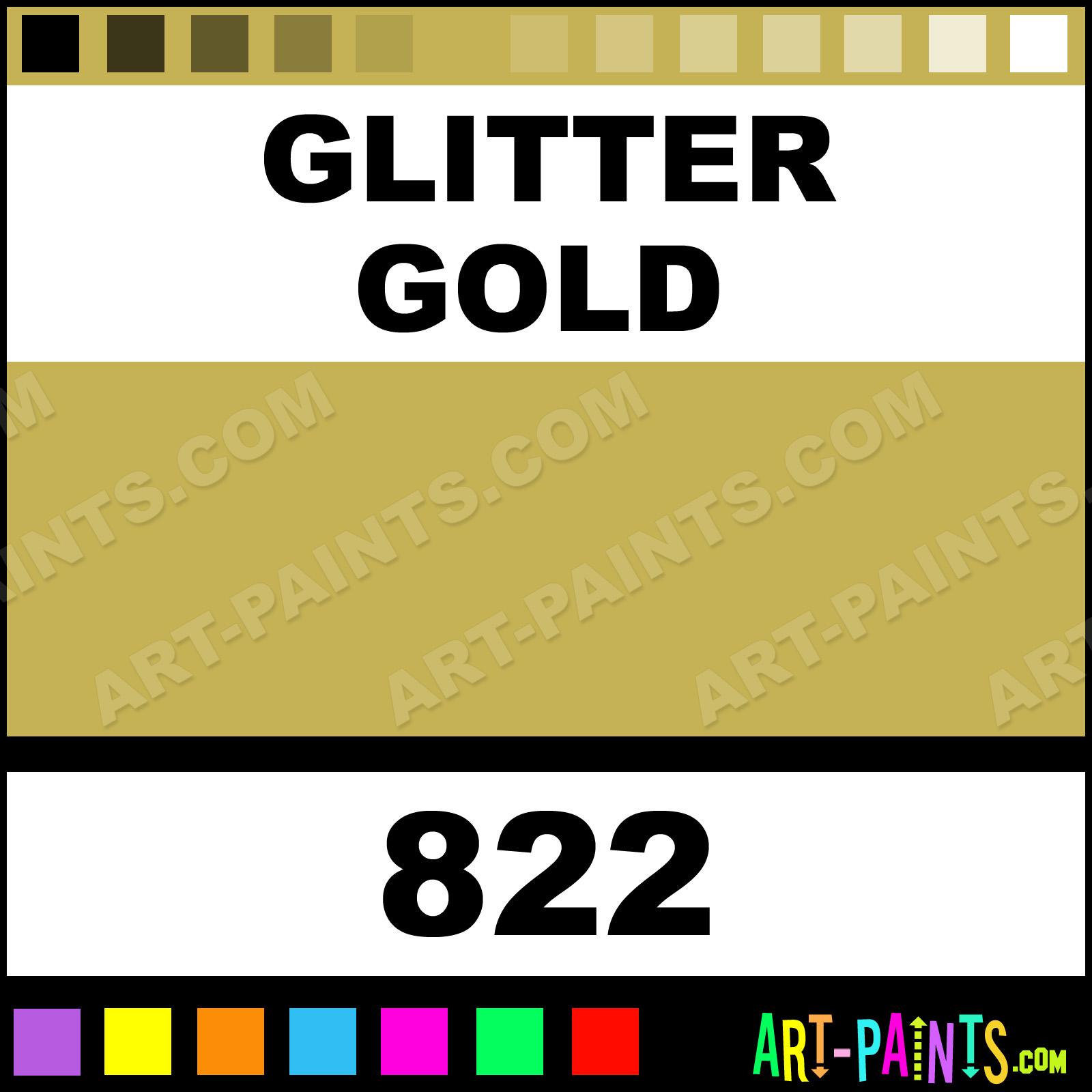 Glitter Gold Fabric Spray Paints Aerosol Decorative