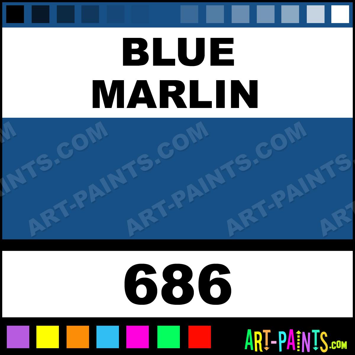 Blue Marlin Paintings Blue Marlin Paint