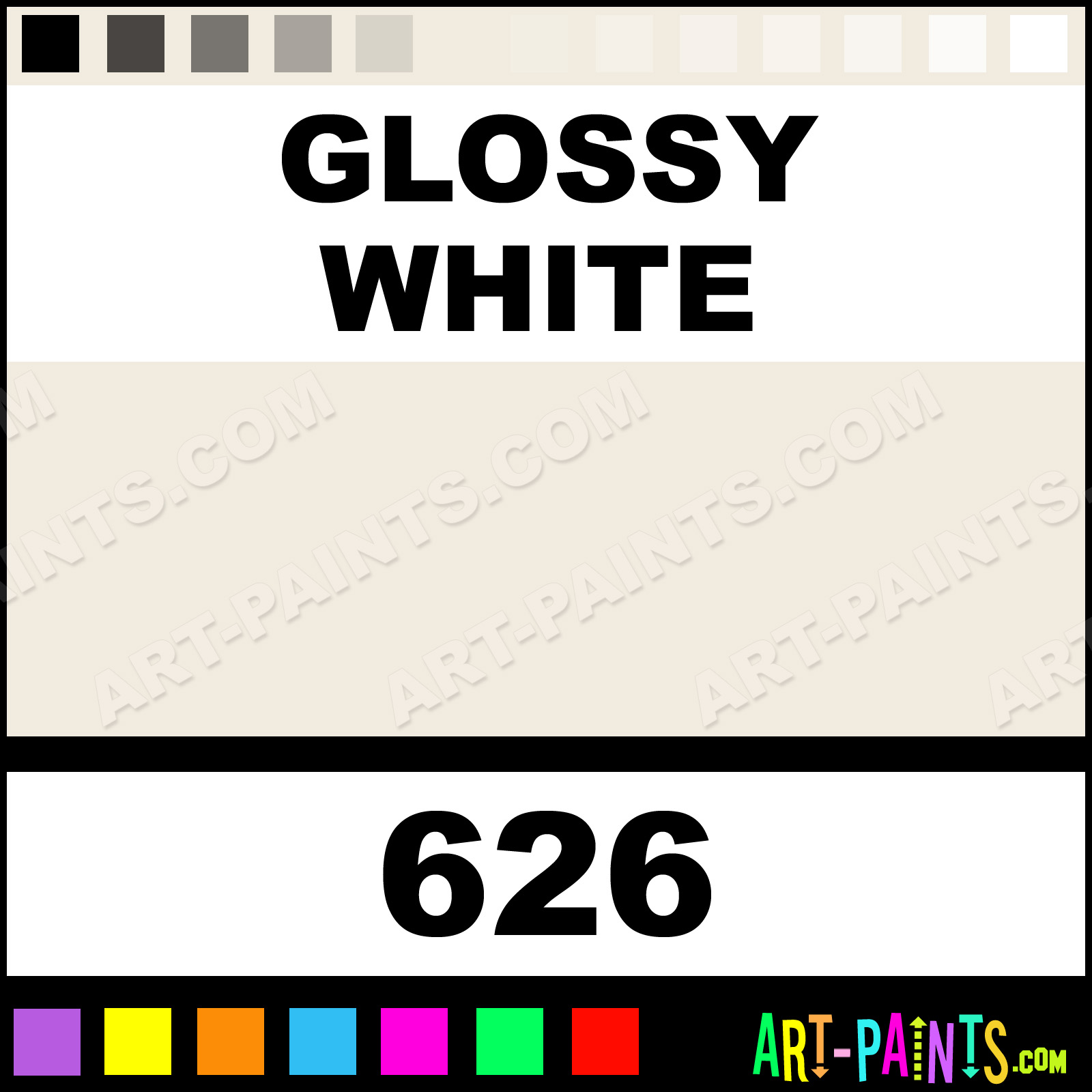 glossy white floral spray paints 626 glossy white