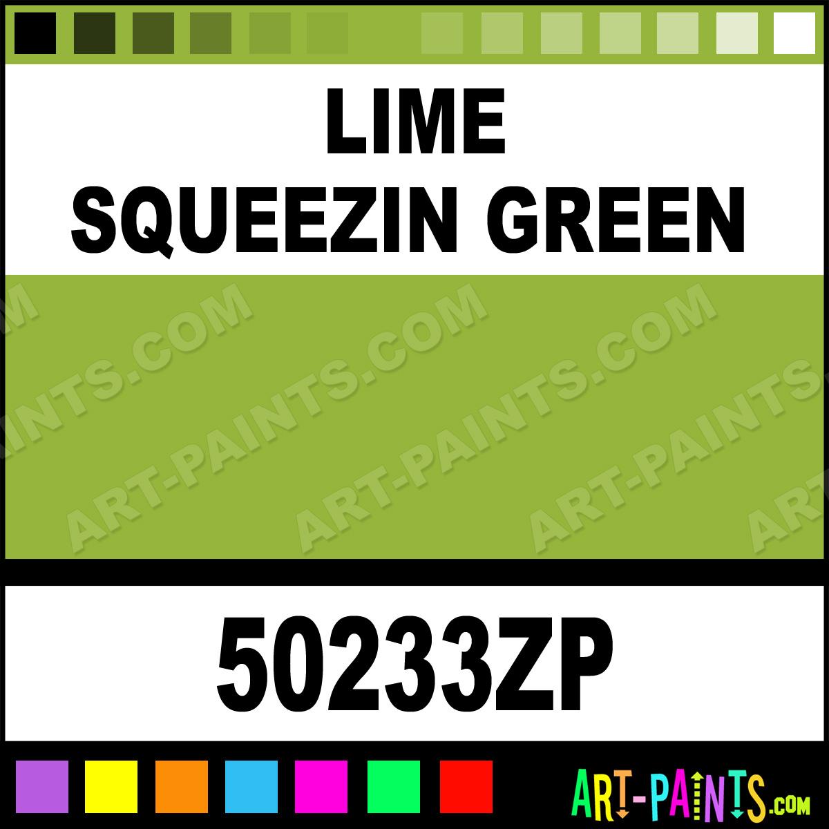 Lime Squeezin Green Factory Match Spray Paints Aerosol Decorative Paints 50233zp Lime