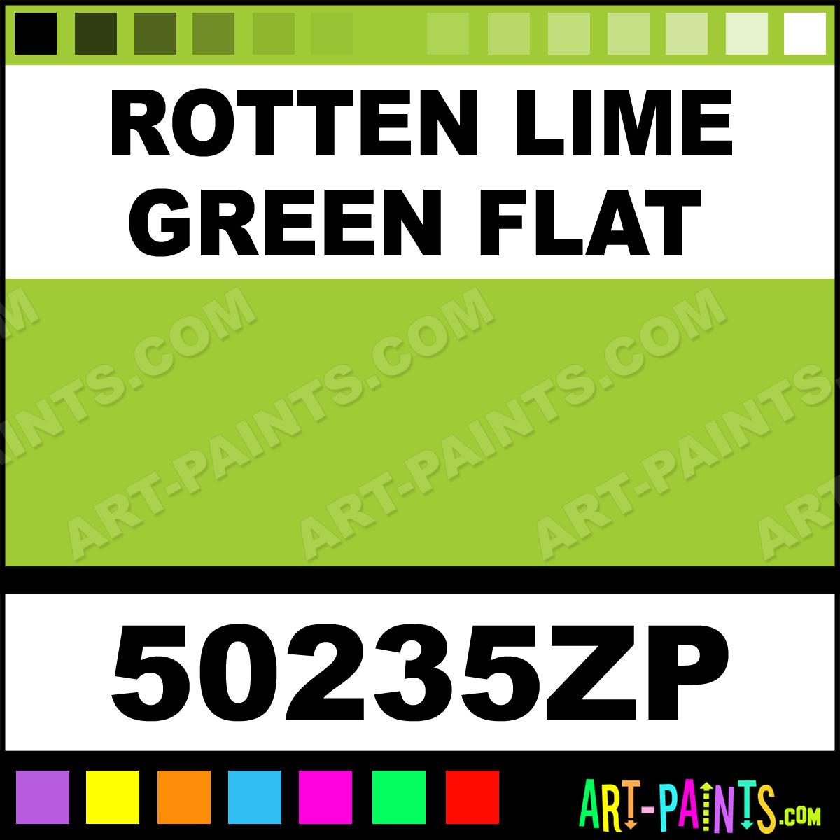 Rotten Lime Green Flat Factory Match Spray Paints Aerosol Decorative Paints 50235zp Rotten