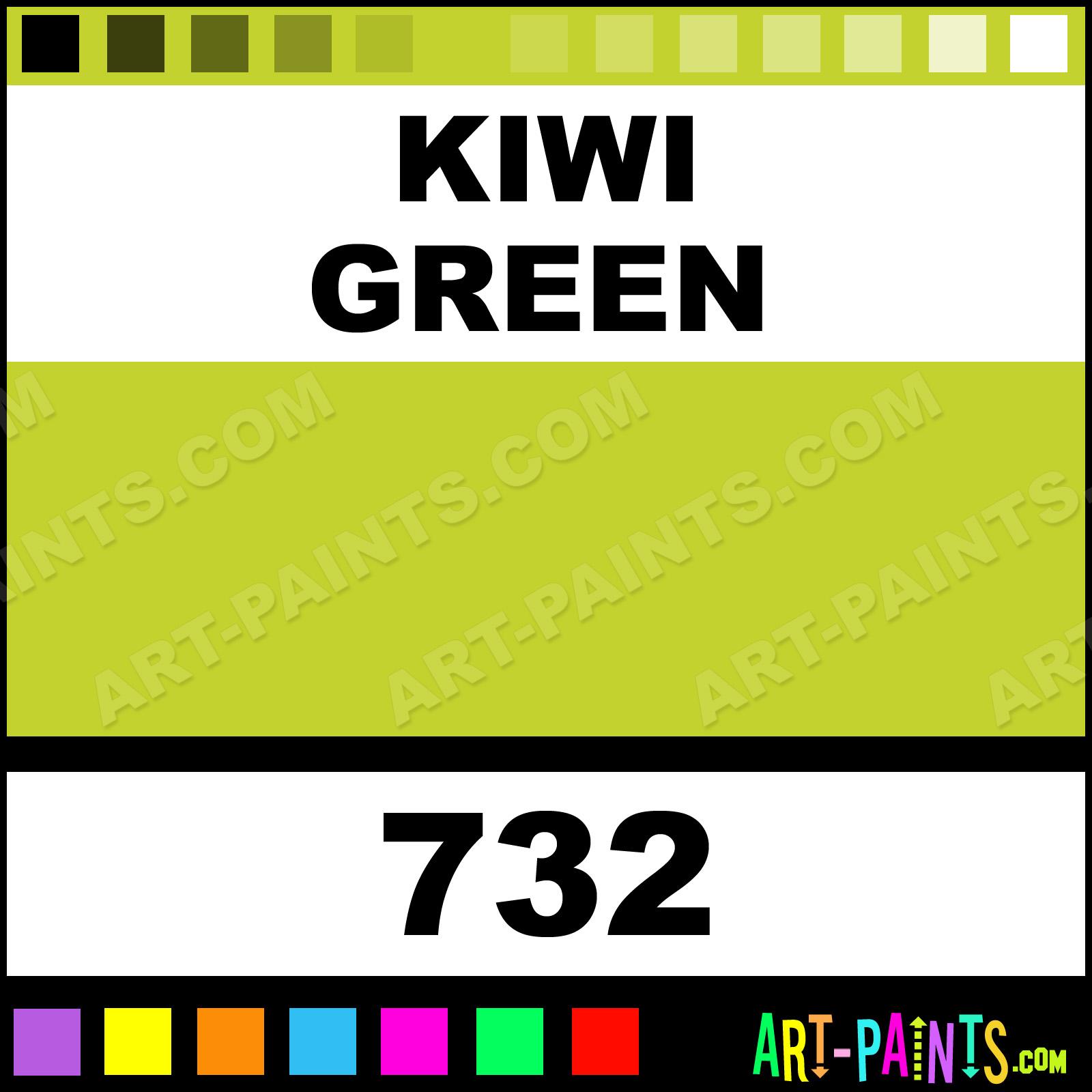 Kiwi Green Paint