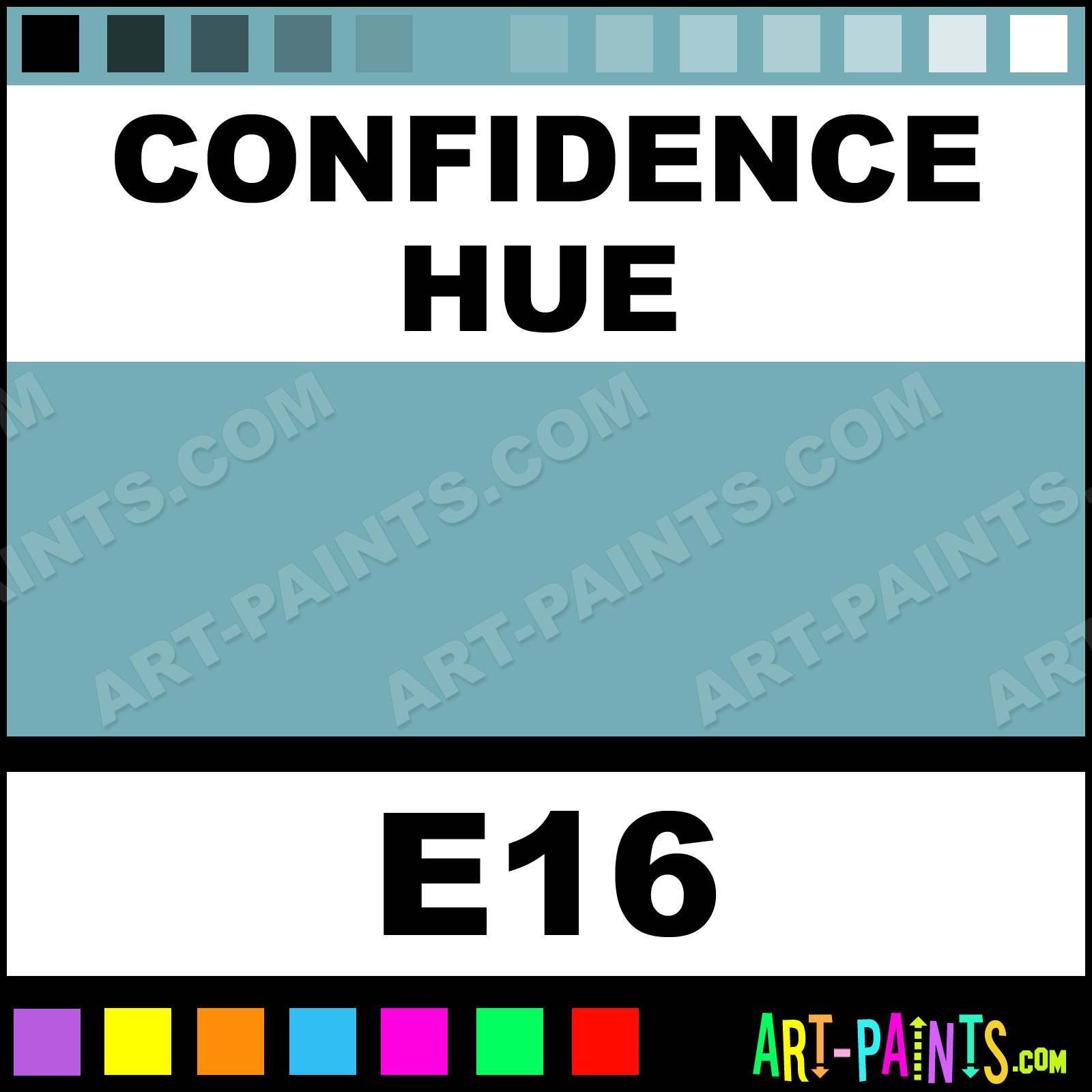 Using Colour With Confidence: Confidence Casual Colors Spray Paints