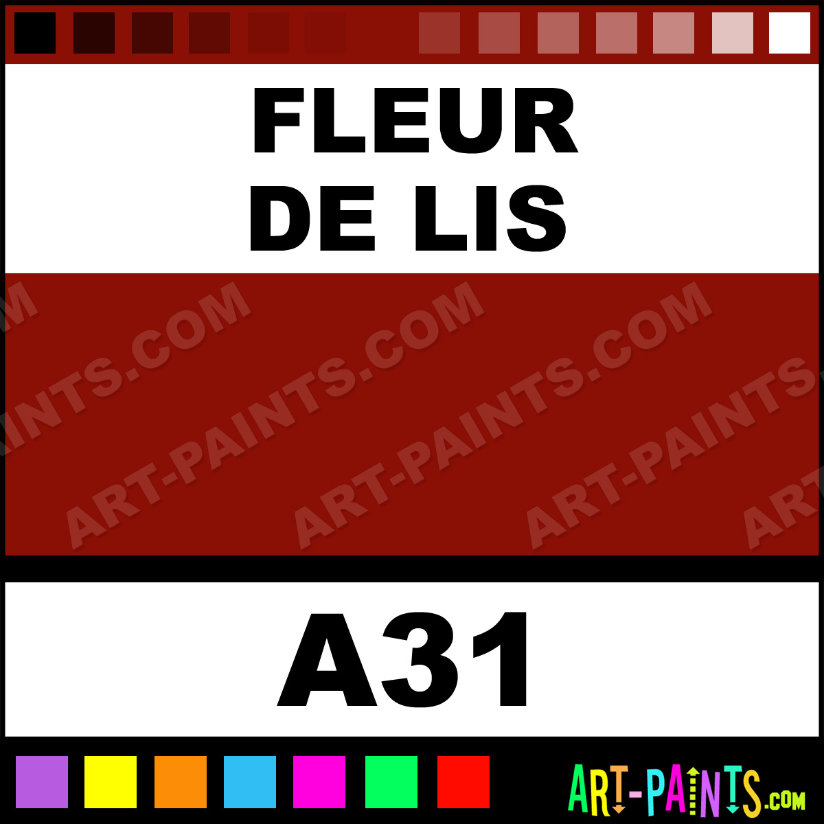 Fleur de lis casual colors spray paints aerosol - Fleur paint ...