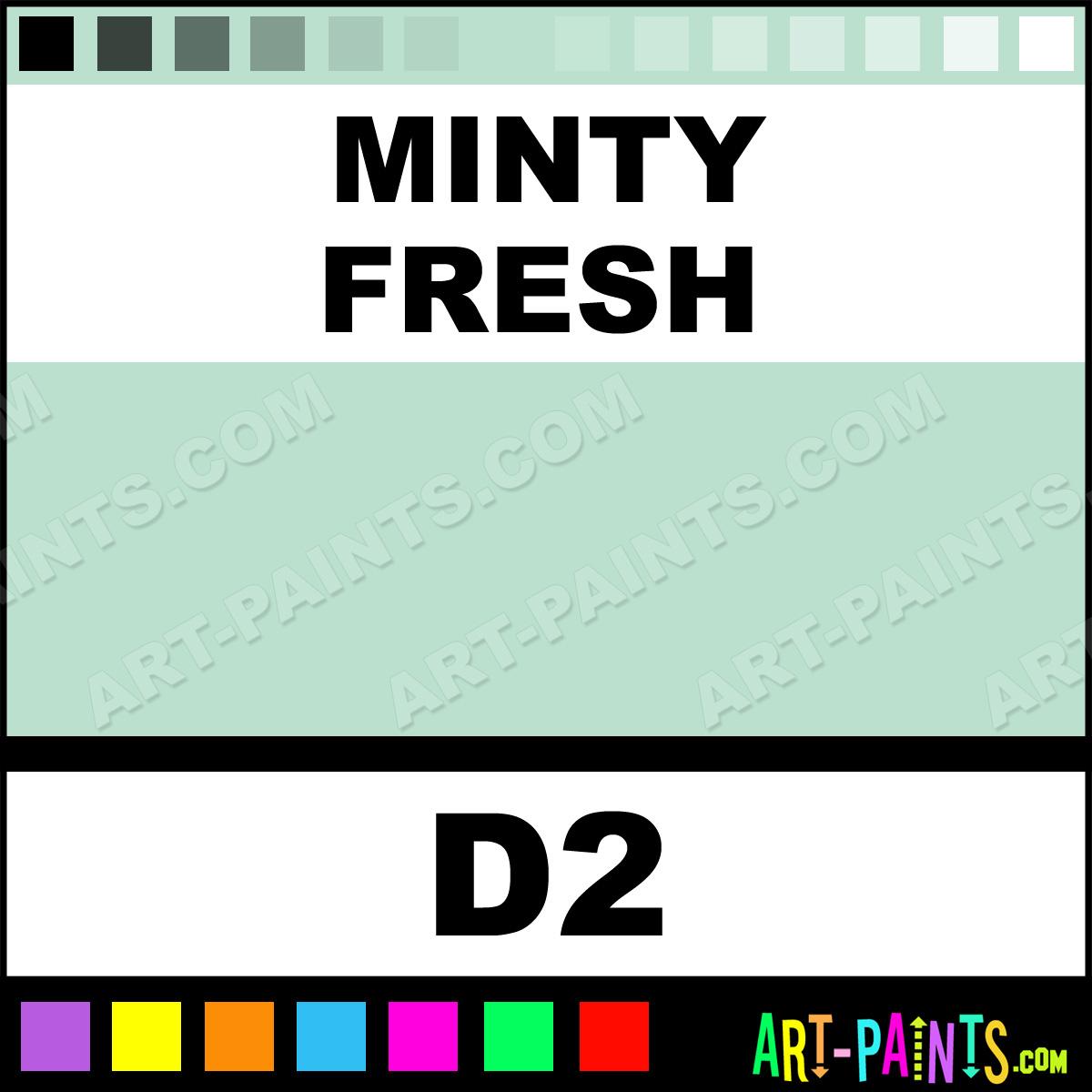 Minty Fresh Casual Colors Spray Paints Aerosol Decorative Paints D2 Minty Fresh Paint