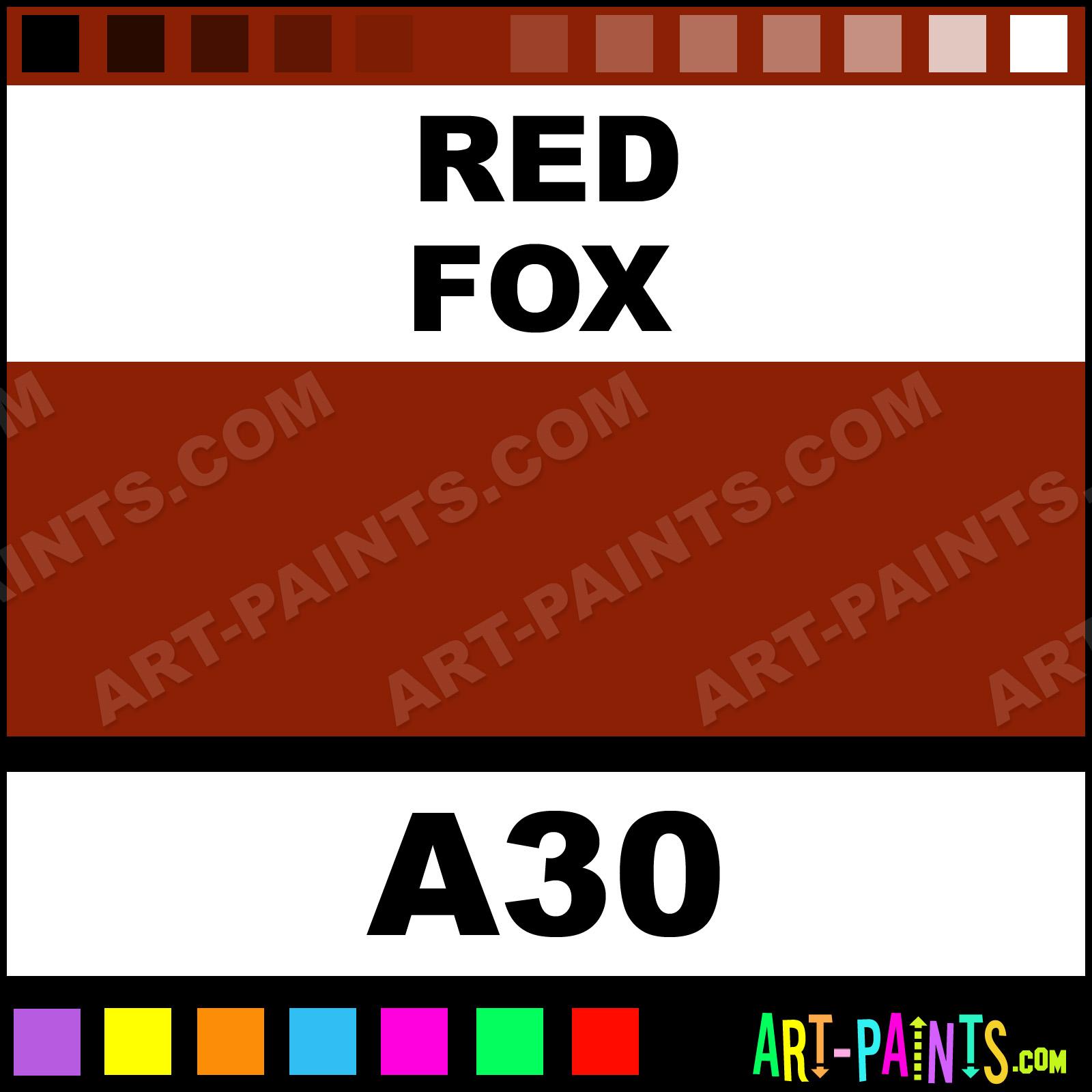 Red Fox Casual Colors Spray Paints - Aerosol Decorative