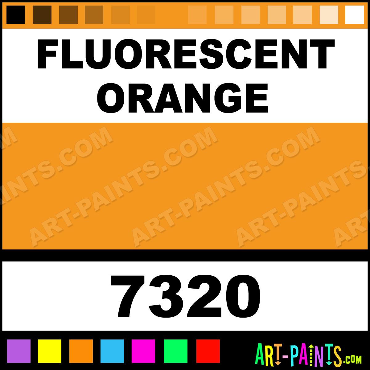 Fluorescent Orange Paint For Metal