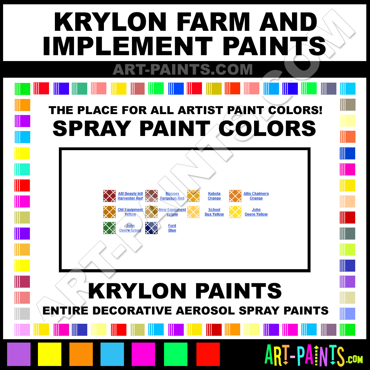 Implement Spray Paint