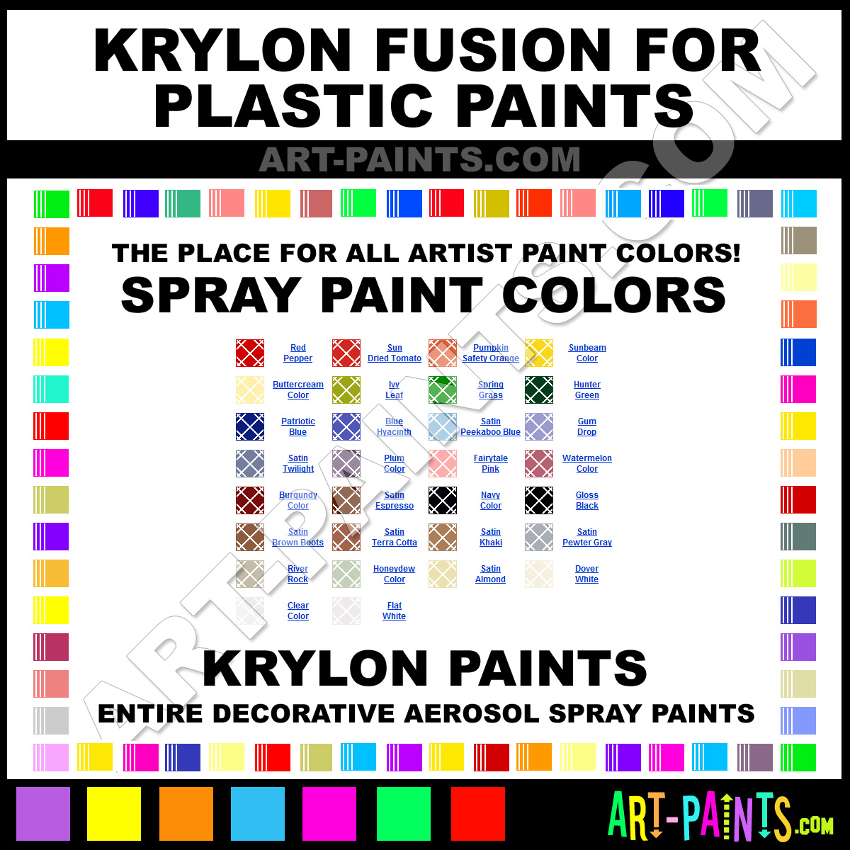 Fusion Paint Colors 28 Images Krylon Paint Color Chart Pictures To Pin On Krylon Fusion For