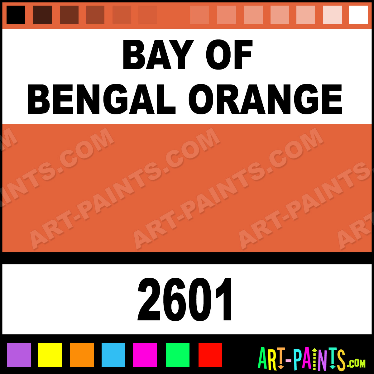 bay of bengal orange h2o latex spray paints 2601 bay. Black Bedroom Furniture Sets. Home Design Ideas