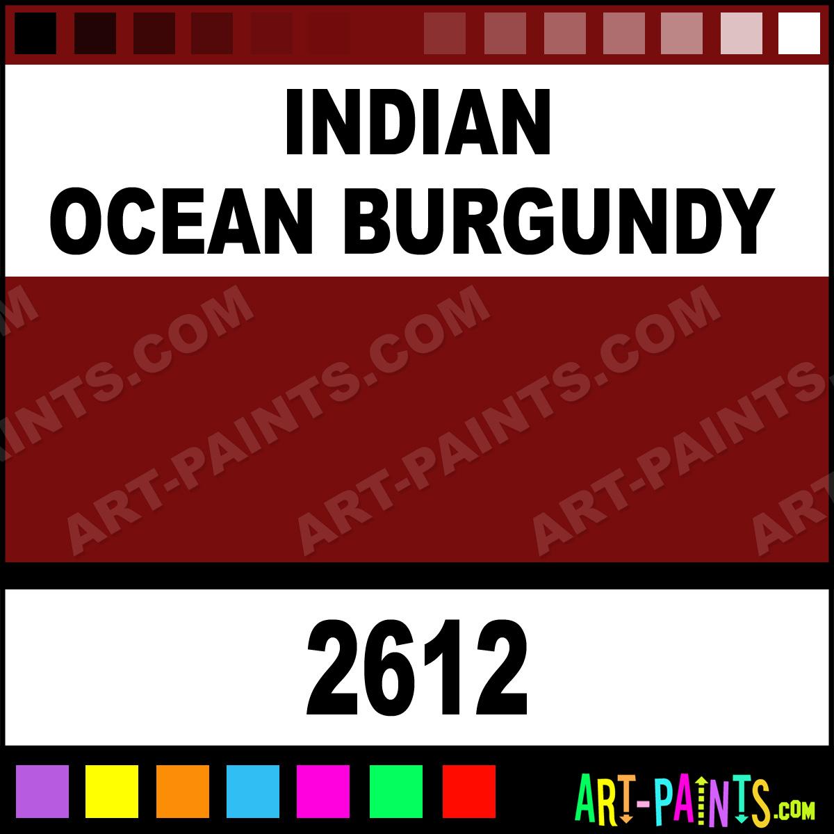 indian ocean burgundy h2o latex spray paints 2612. Black Bedroom Furniture Sets. Home Design Ideas