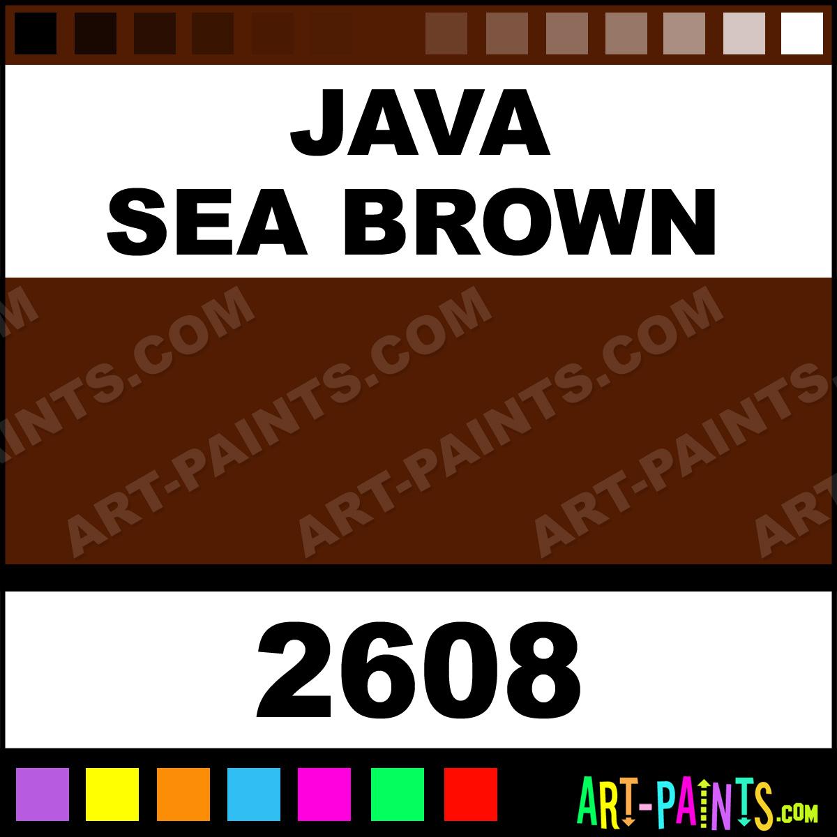 java sea brown h2o latex spray paints 2608 java sea. Black Bedroom Furniture Sets. Home Design Ideas