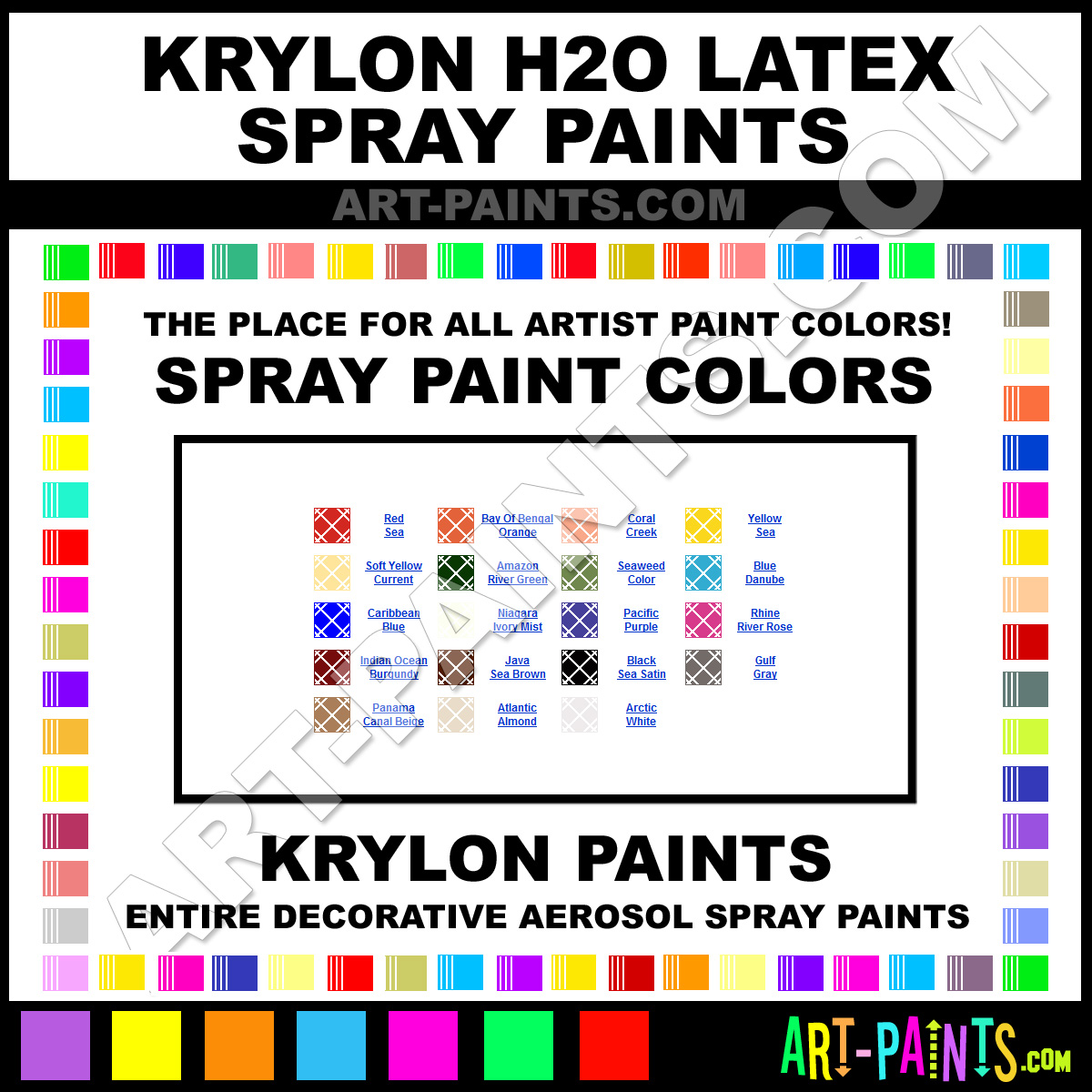 How to spray paint latex