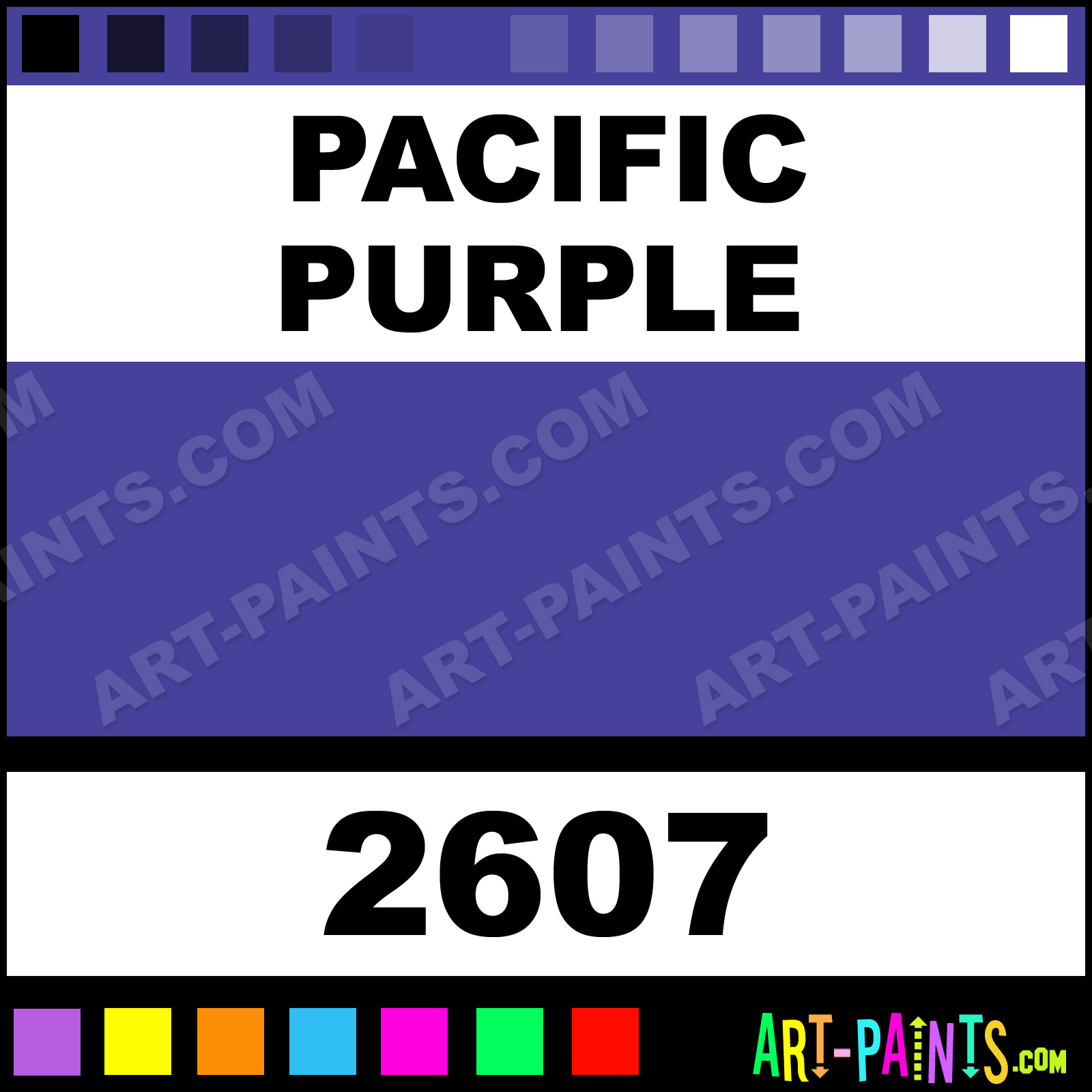 pacific purple h2o latex spray paints 2607 pacific. Black Bedroom Furniture Sets. Home Design Ideas