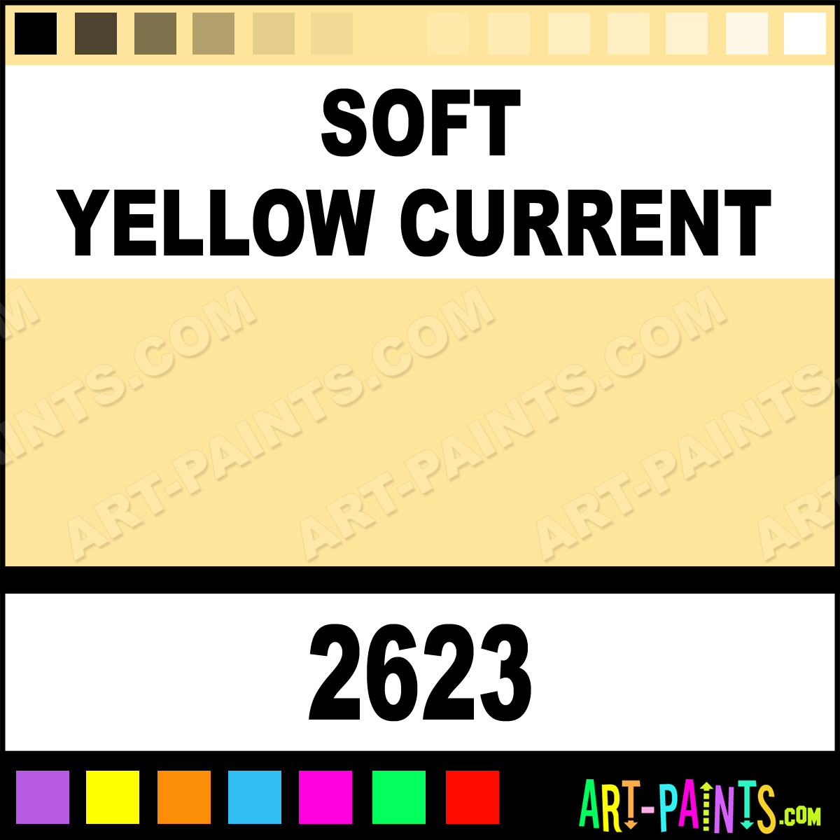 soft yellow current h2o latex spray paints 2623 soft. Black Bedroom Furniture Sets. Home Design Ideas