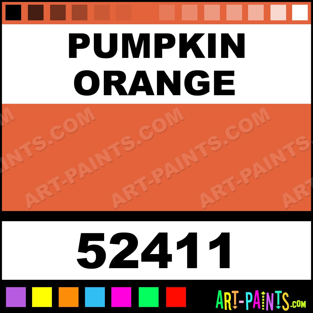 Pumpkin Orange Indoor Outdoor Spray Paints 52411