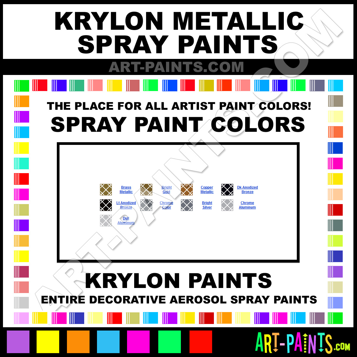 Chrome Aluminum Metallic Spray Paints 1404 Chrome Aluminum Paint Chrome Aluminum Color