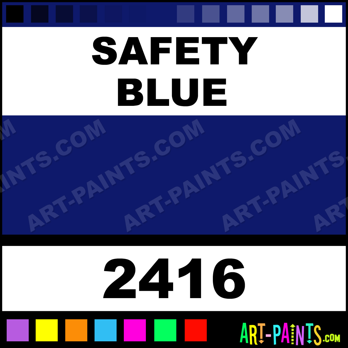 Safety blue osha spray paints 2416 safety blue paint for Spray paint safety