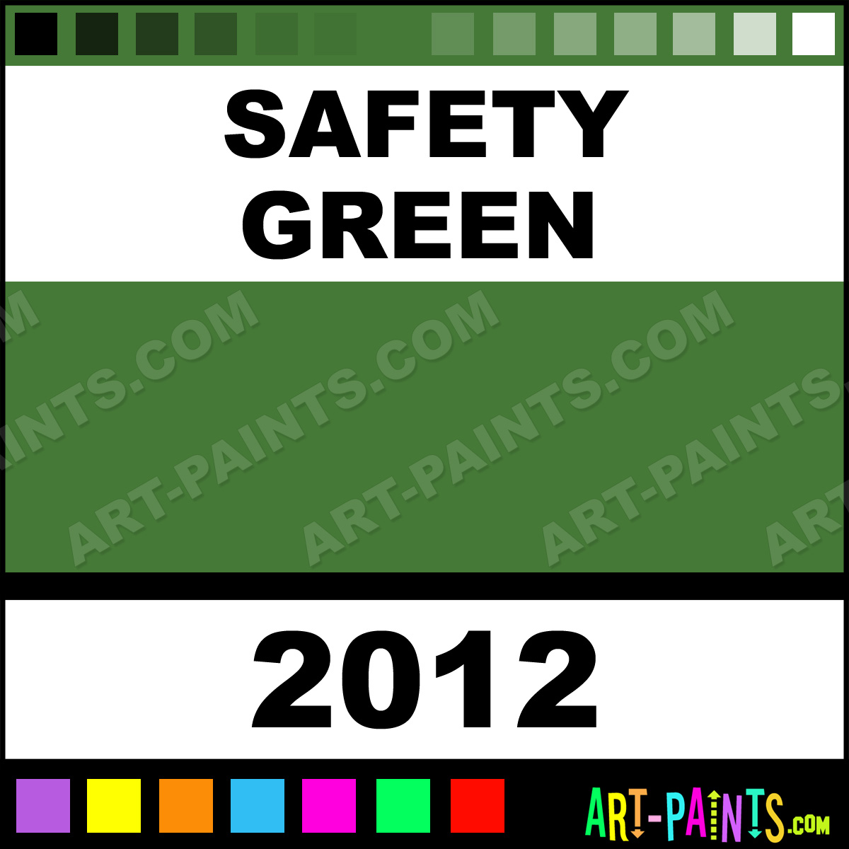 Safety Green Paint Safety Green Paint