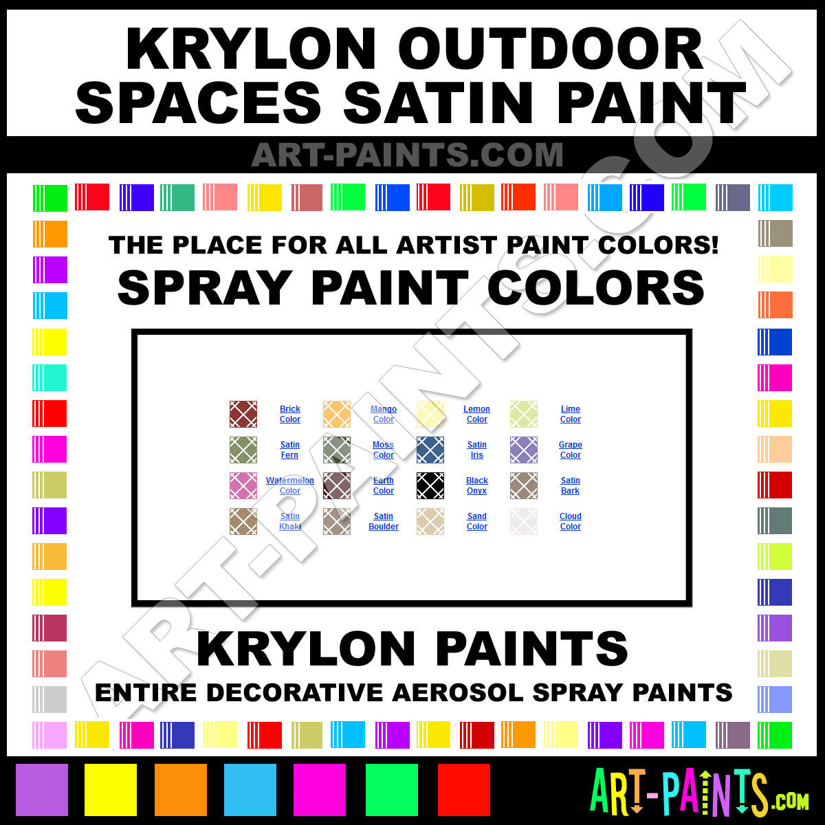 Grape Outdoor Spaces Satin Spray Paints 2925 Grape