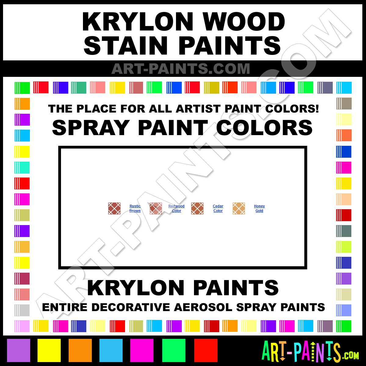 Wood Paints And Stains