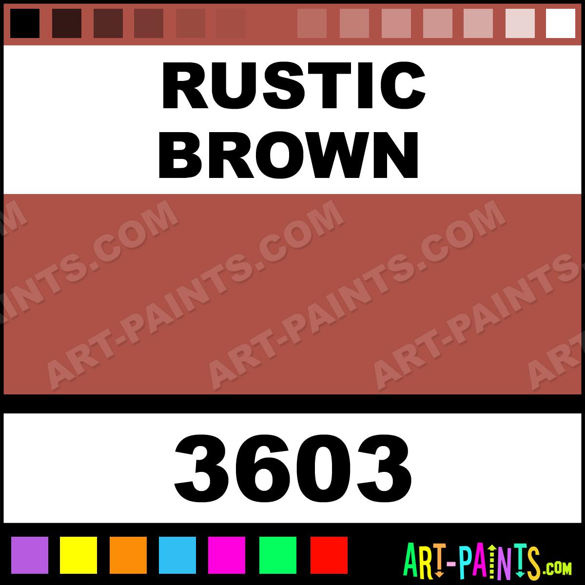 Rustic Brown Paint