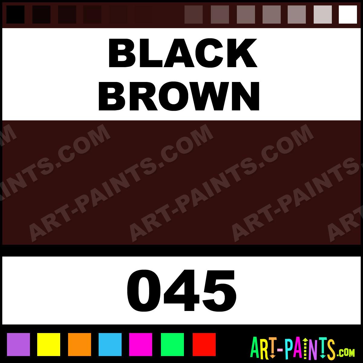 Black Brown Buntlack Spray Paints Aerosol Decorative