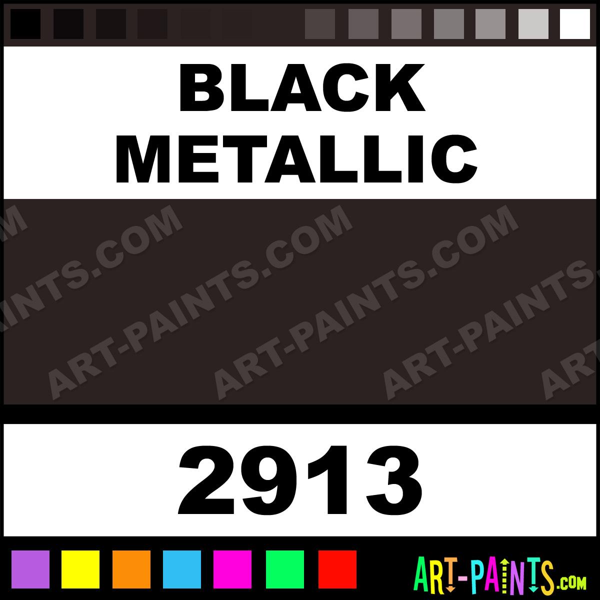 Black Metallic Car And Truck Enamel Spray Paints 2913 Black Metallic Paint Black Metallic