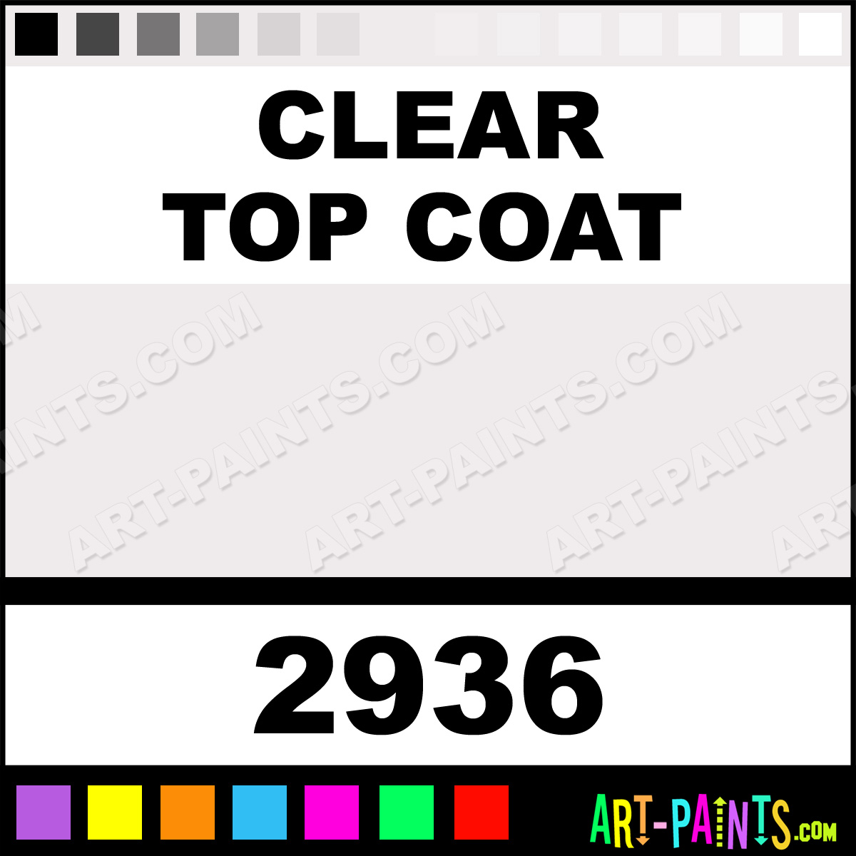 clear top coat car and truck enamel spray paints 2936 clear top. Black Bedroom Furniture Sets. Home Design Ideas