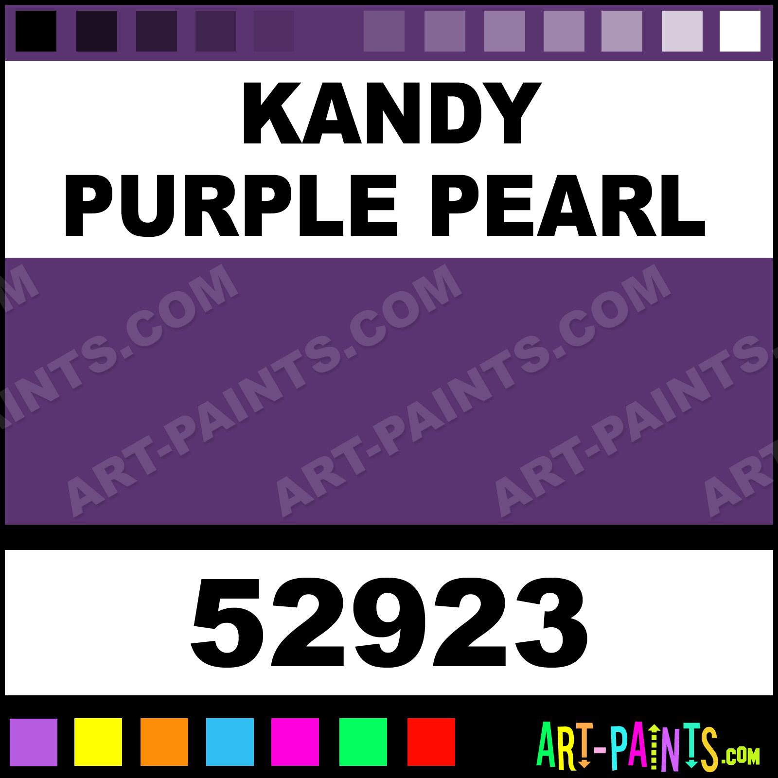 Black car paint colors chart - Purple Car Paint Colors Kandy Purple Pearl Kandy Purple Pearl Paint